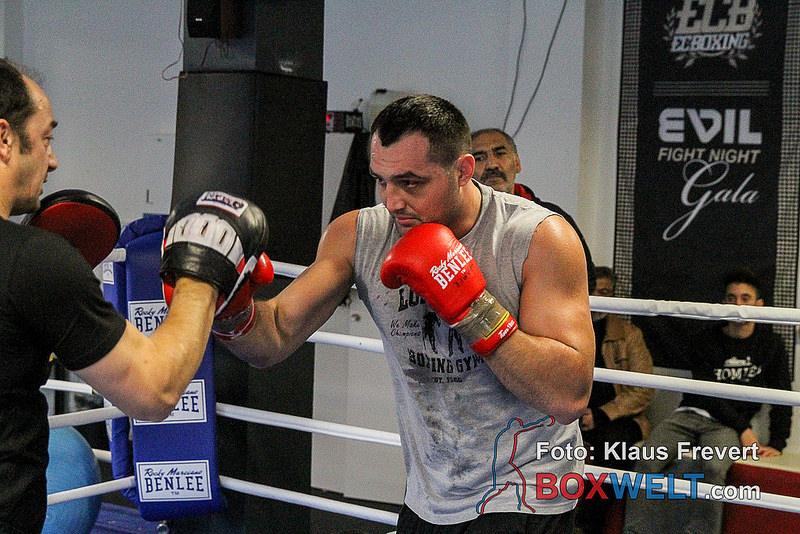 Christian Hammer mit Trainer Bülent Baser
