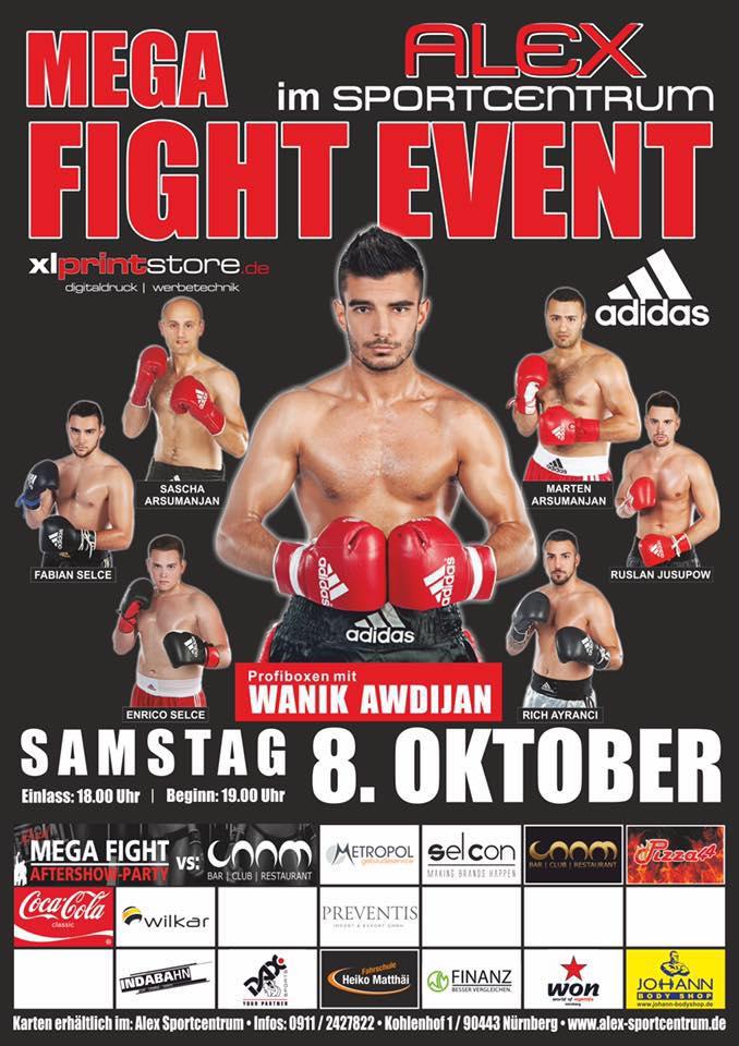 Fight Event im Alex Sportcentrum