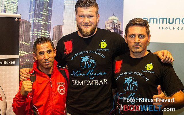 Ibo Günes, Alexander Dimitrenko & Ivan Filipovic