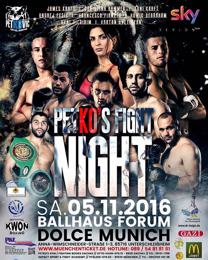 Petko's Fight Night - 05.11.2016