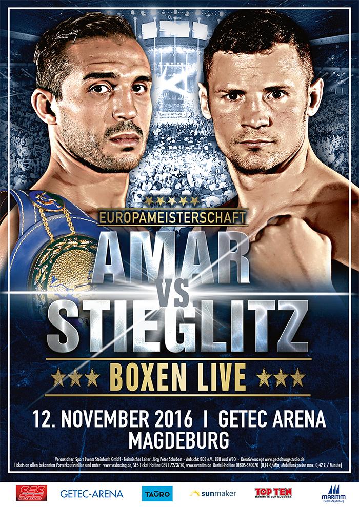 Robert Stieglitz vs Mehdi Amar - 12.11.2016