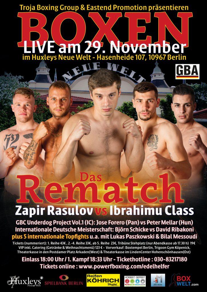 Zapir Rasulov vs Ibrahimu Class - Das Rematch