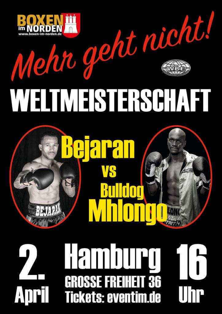 Rafael Bejaran vs Nkululeko Mhlongo