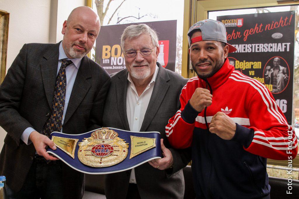 Olaf Schröder, Thomas Nissen und Rafael Bejaran