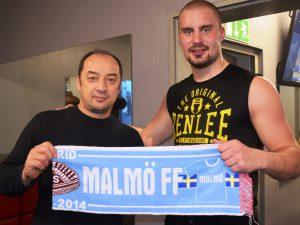 Adrian Granat mit Trainer Bülent Baser