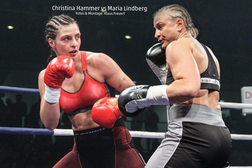 Christina Hammer Vs Maria Lindberg Am 1 April Boxwelt Com