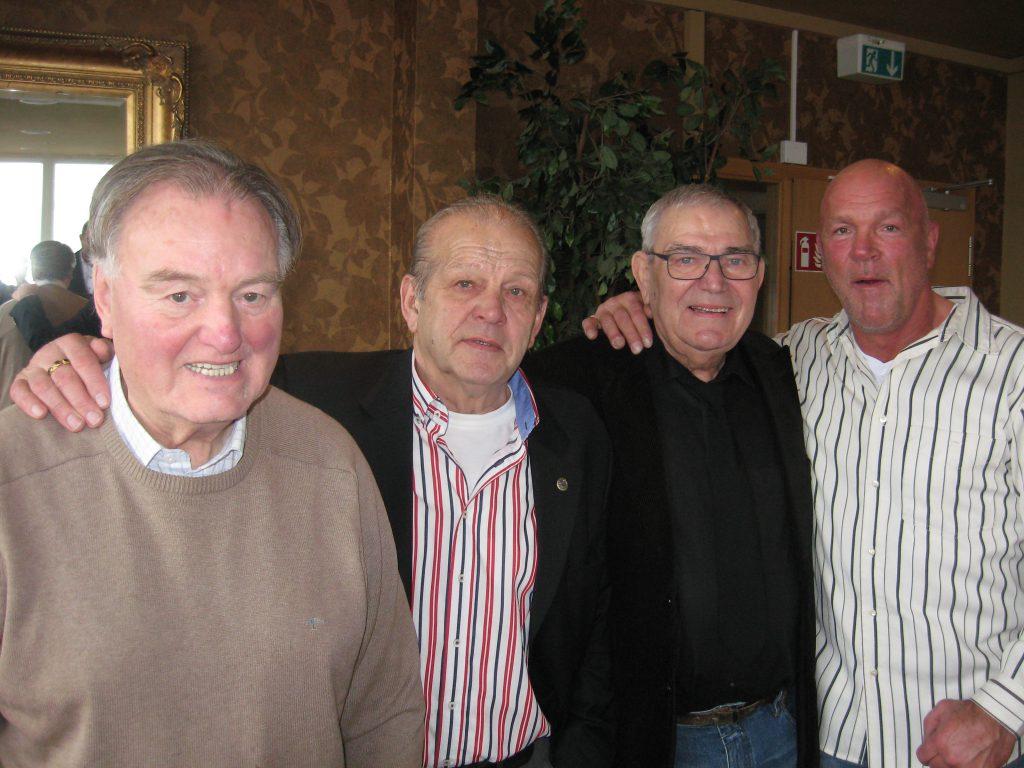 Hans-Peter Siemons, Karsten Honhold, Peter Salomon und Christian Honhold