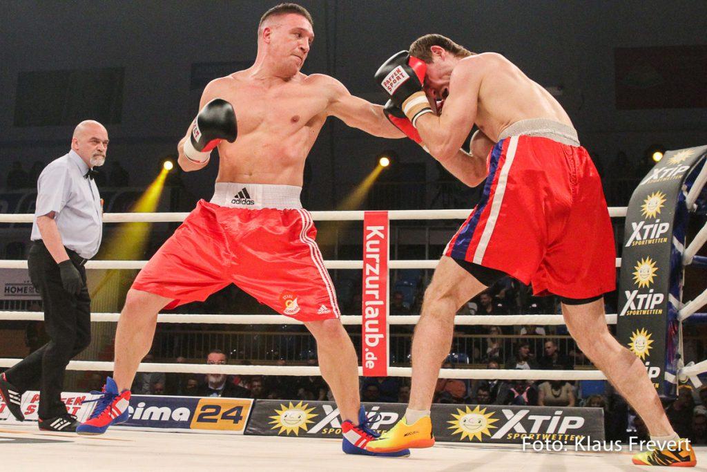 Nick Hanning vs Pavel Hryshkavets