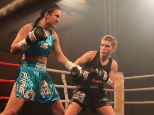 Nina Meinke vs Hasna Tukic - Foto: Wolfgang Wycisk