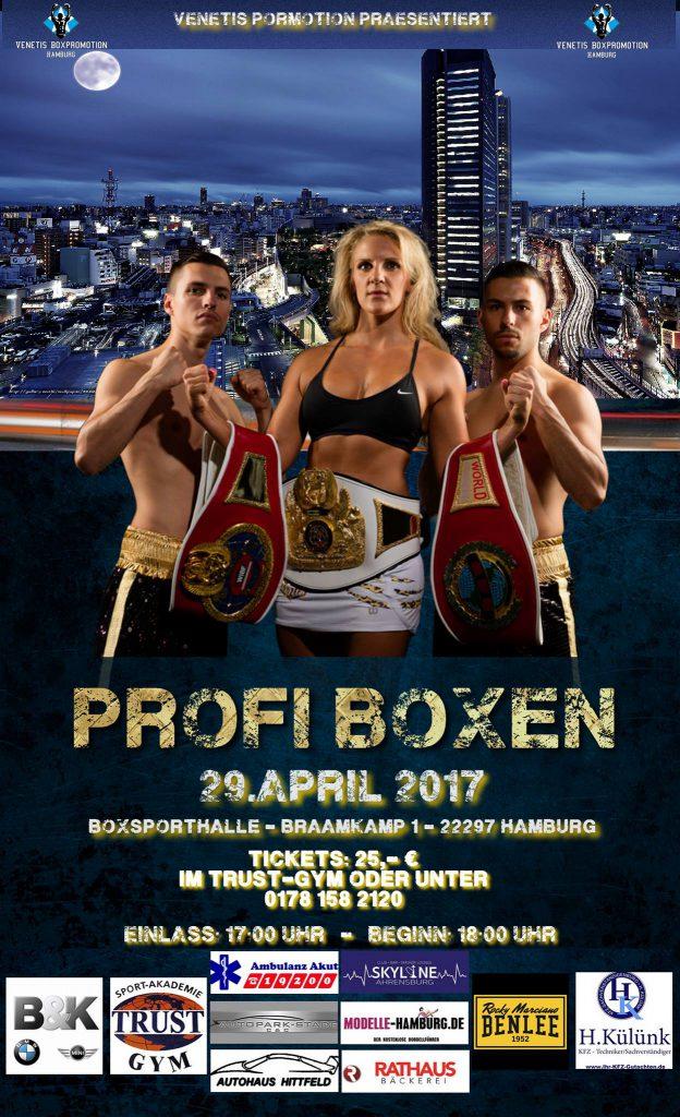 Boxen im Braamkamp am 29.04.2017