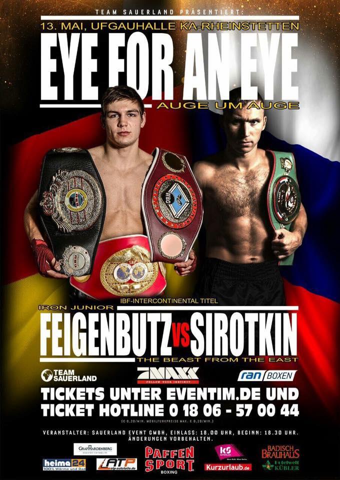 Feigenbutz vs Sirotkin