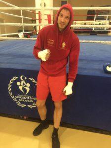 Mario Daser im Trainingscamp