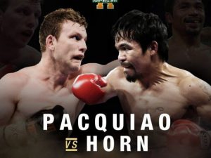 Pacquiao vs Horn