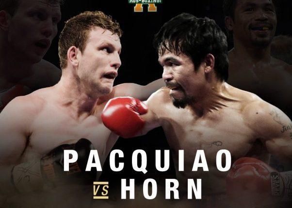 Pacquiao vs Horn