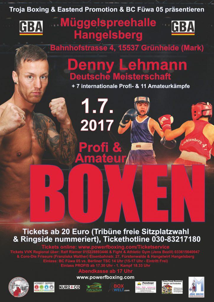 Denny Lehmann vs Robert Larsen