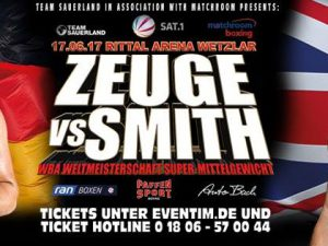 Tyron Zeuge vs Paul Smith