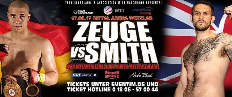 Tyron Zeuge vs Paul Smith