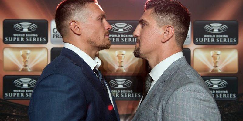 Usyk vs Huck - Foto: Mark Hermenau / World Boxing Super Series