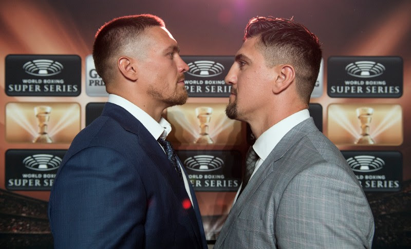 Usyk vs Huck - Foto: Mark Hermenau / World Boxing Super Series