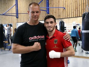 Mike Hanke und Murat Yildirim - Foto: Wolfgang Wycisk