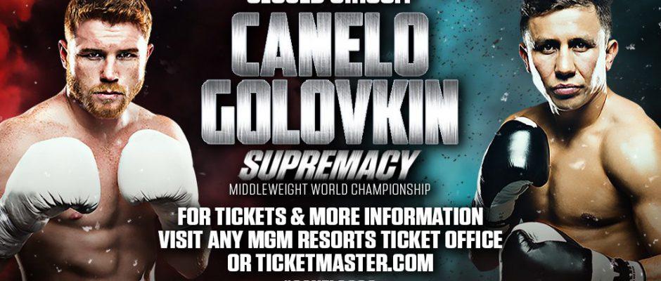 "Gennady Golovkin vs Saul ""Canelo"" Alvarez"
