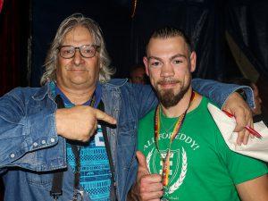 Ronny Mittag (rechts) mit Mario Pokowietz
