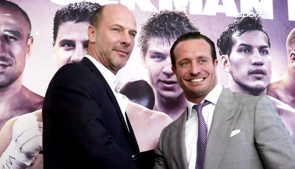Olaf Schröder mit Kalle Sauerland