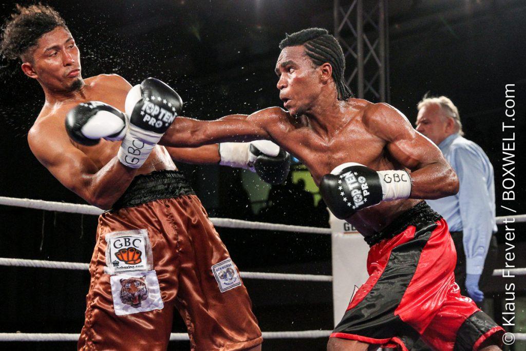 Jose Forero vs Ibrahim Class