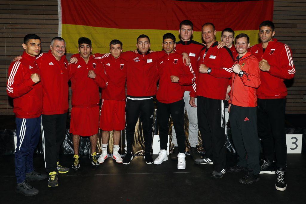 Team Berlin bei der Elite DM in Lübeck - Foto: Wolfgang Wycisk