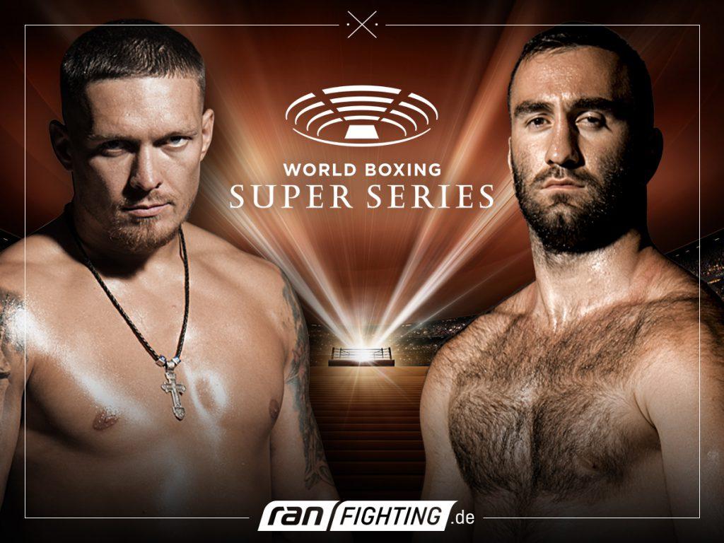 Usyk vs Gassiev - Foto: ran FIGHTING / WBSS