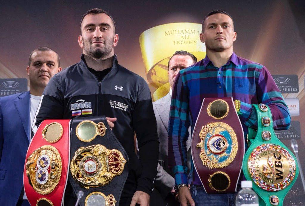 Murat Gassiev vs Oleksandr Usyk - Foto: WBSS