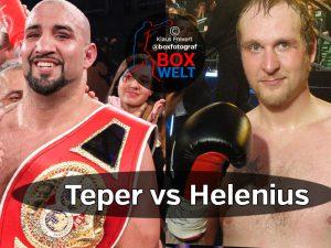 Erkan Teper vs Robert Helenius
