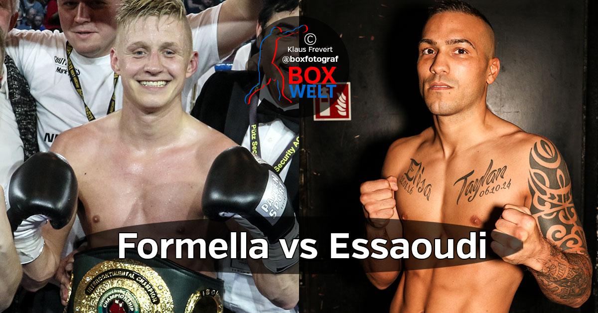 Sebastian Formella vs Ilias Essaoudi