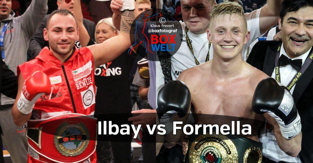 Ilbay vs Formella ?