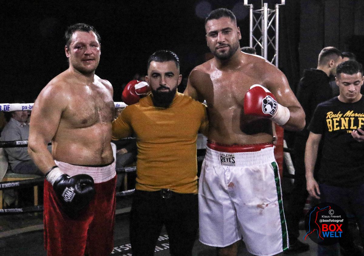 Denis Bakhtov, Anar Achundsade und Hussein Muhamed