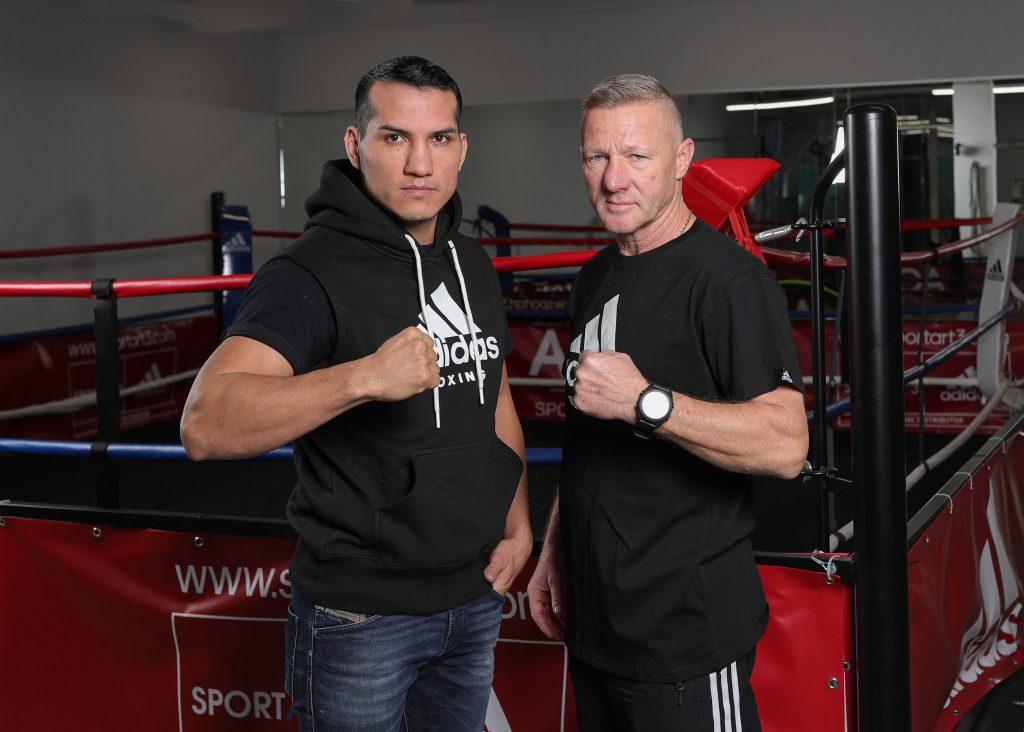 Jack Culcay mit Trainer Michael Stachewicz - Foto: Freitag/AGON