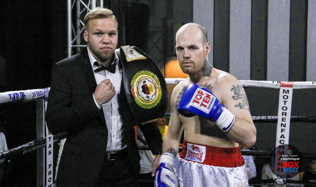 Mario Jassmann vs Mika Joensuu - Boxen live in Korbach