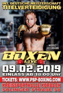 Boxen Live in Korbach